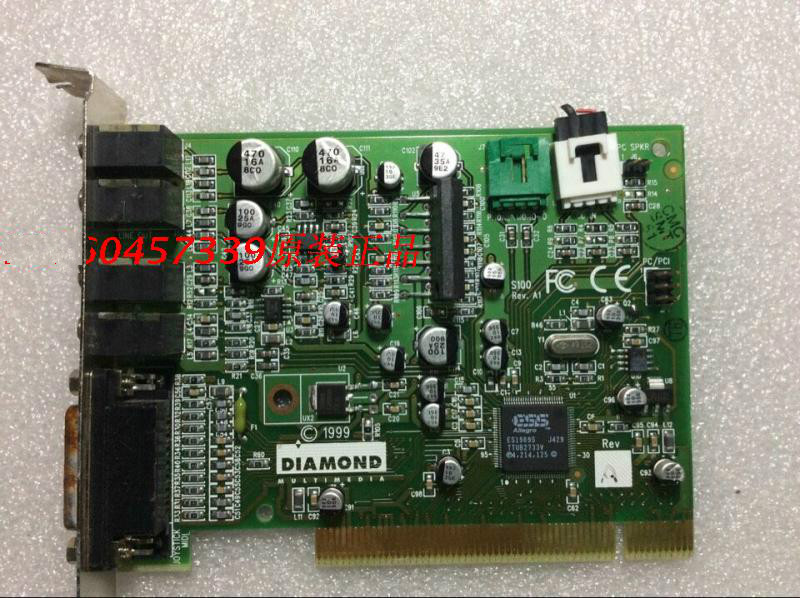 Very classic, original for Damond S100 classic sound card ,100% working good