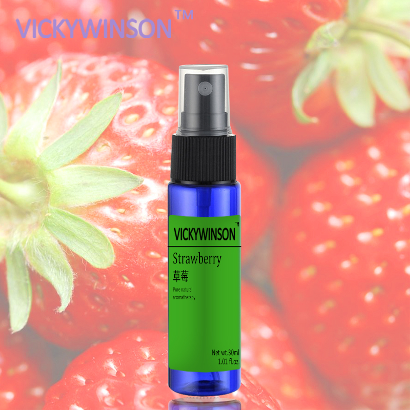 Strawberry Antiperspirant Men Women Fresh Air Ball Body Lotion Refreshing Deodorant Antiperspirant Roller 30ml