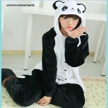 Cartoon Adult Unisex Kigurums Winter Anime Pajamas Panda Cosplay Costume Pyjamas Hoodies Animal Onesies Sleepwear
