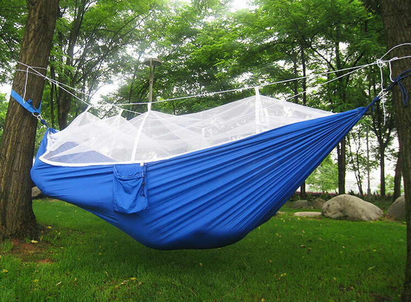 Tendë e çadrës me rrjeta mushkonjash. Kampe hamak, ultratinguj dhe - Kampimi dhe shëtitjet - Foto 6