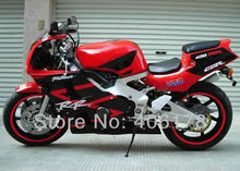 Hot Sales,Fairing kit For Honda CBR400RR CBR 400 RR NC29 90-98 1990-1998 Red & Black Motorcycle Fairings bodykit bodywork