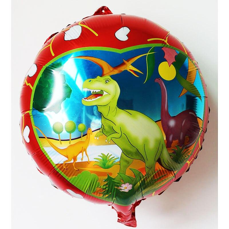 venta caliente dinosaur globo globos nios cumpleaos partido boda regalos decoracin globo de la hoja globos