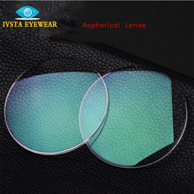 IVSTA 1 67 Customized Lense Green Coating Degree astigma Anti Fatigue anti radiation Men Women Prescription