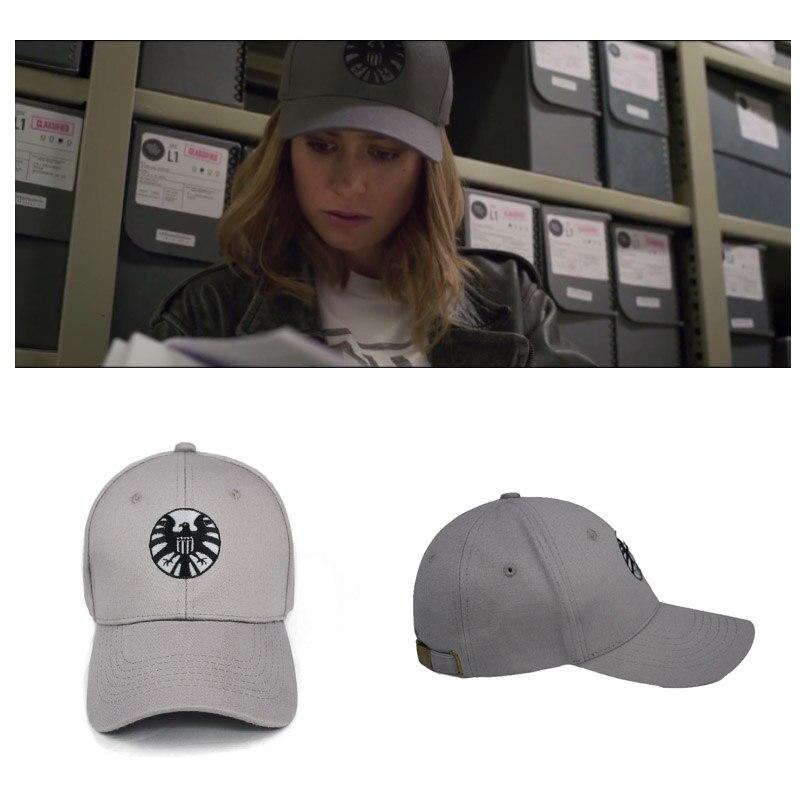 Movie Accessories Captain Marvel Ms. Marvel Carol Danvers   Baseball     Cap   Women Men Cosplay Hat Sport Outdoor   Caps