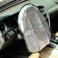 Новинка  серебристая алюминиевая пленка  автомобильный чехол для руля  Солнцезащитная Светоотражающая Защита от солнца  хит продаж