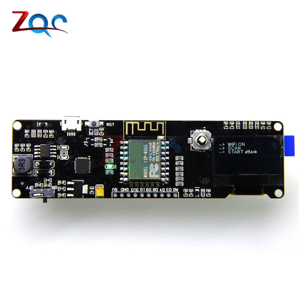 Cheap and beautiful product esp8266 oled 18650 in BNS Store