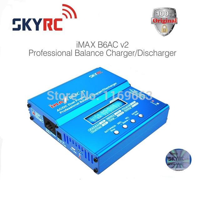 100% оригинальный skyrc ИМАКС B6AC v2-это зарядное устройство модели самолета Натуральная LiPo батареи баланс зарядное устройство для RC вертолет