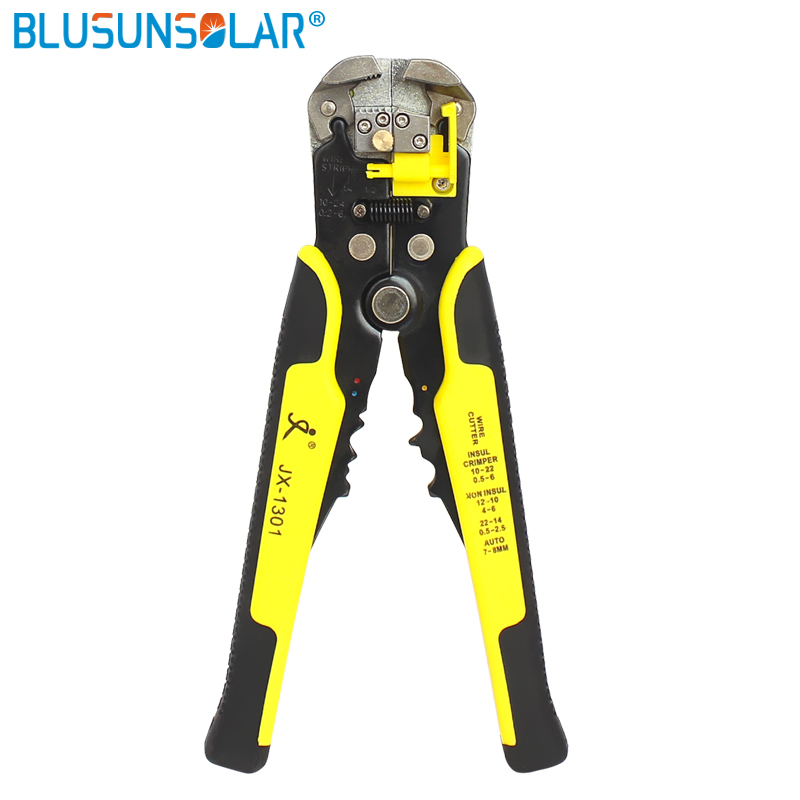 1PCS Automatic Self Crimper Stripping Cutters Adjusting Cable Wire Strippers*~*