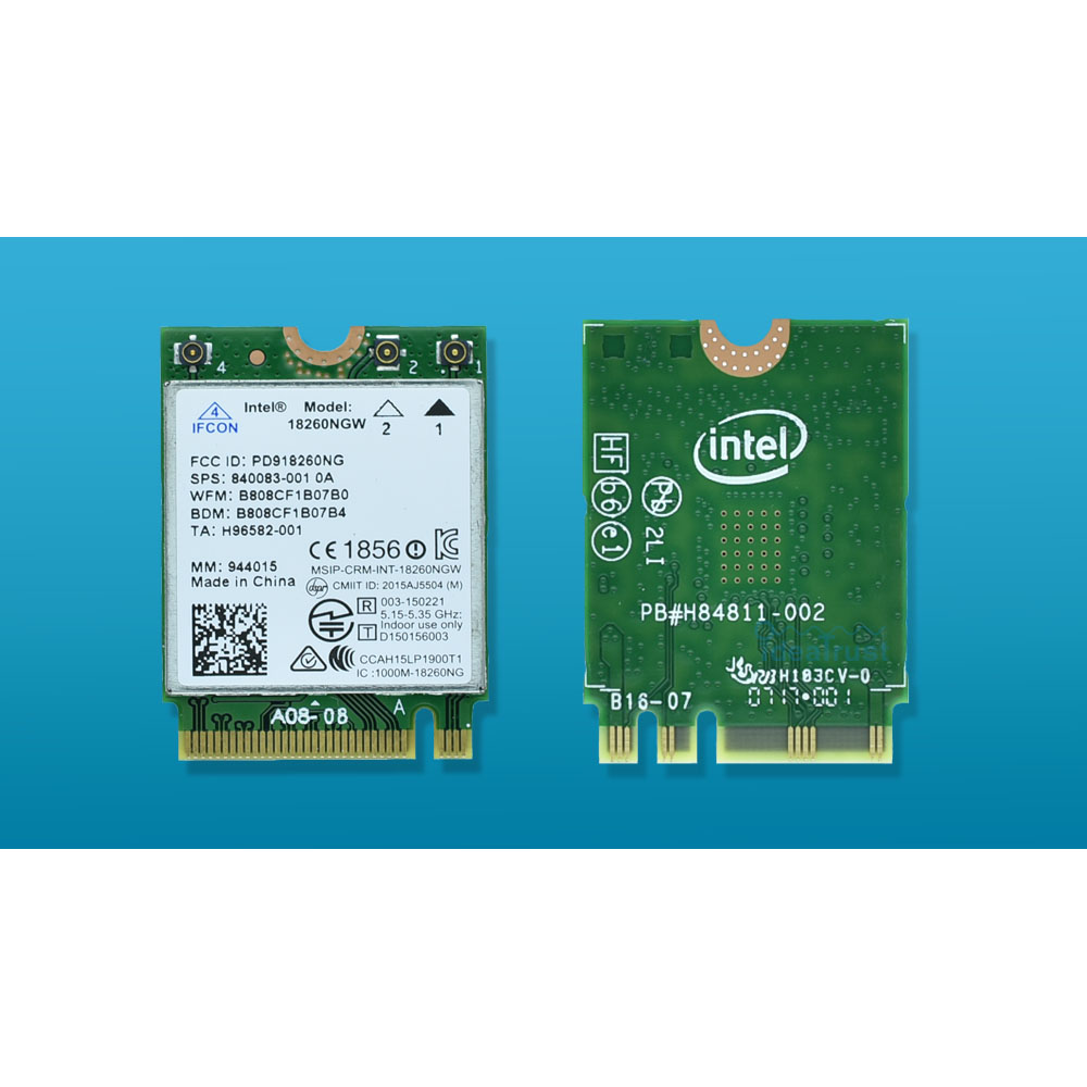 Banda sem Fio-ac Placa de Rede sem Fio Nova Marca Intel 18260ngw 802.11ad ac 867 Mbps 2.4 & 5g Bt4.2 Wifi pk 8260ngw Tri 18260