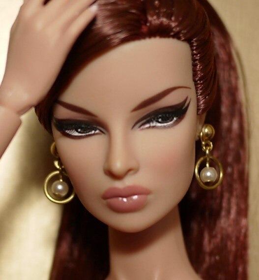 Hazy beauty Handmade Fashion Jewelry Earring Accessories For Barbie Fr 1 6 Dolls BBIEAR0010