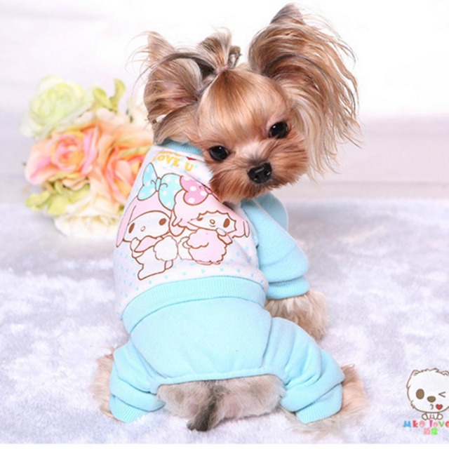 Cheap Teacup Dog Clothes Funny Apparel Cat Wear Knitwear Winter