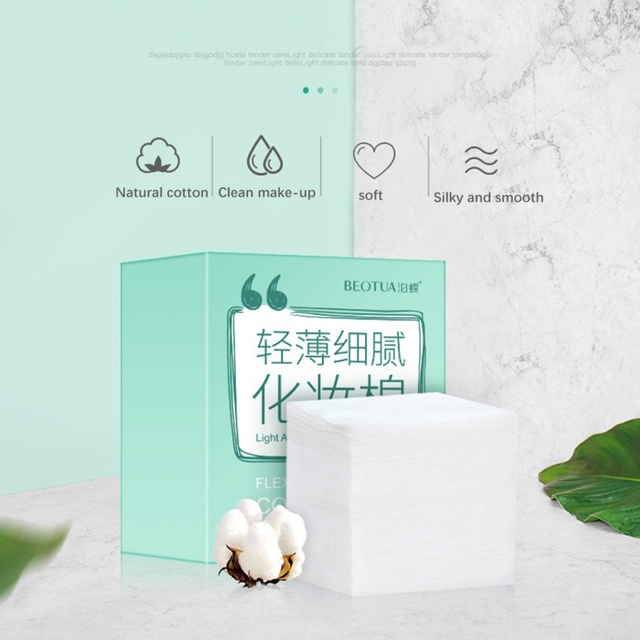 Cotton Cleansing Remover Cotton Women Facial Skin Care  4