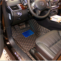High Quality Custom Special Floor Mats For Mercedes Benz A 200 W169 2012 2004 Easy To