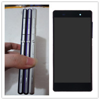 Black White Purple For SONY Xperia Z2 Display Touch Screen Digitizer With Frame Replacement Z2 D6502