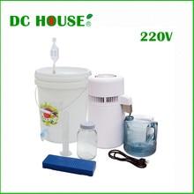 Дистиллятор воды Pure 220 В 4L Очиститель Воды Фильтр 750 Вт Нержавеющей Стали Дистиллятор Воды Машина для Дома, Больницы, Лаборатории офис