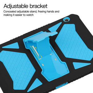 Image 4 - Сверхпрочный армированный чехол для Huawei MediaPad T5 10, чехол из силикона и поликарбоната для MediaPad T5 10, AGS2 W09, L09, L03, W19, чехол 10,1 дюйма