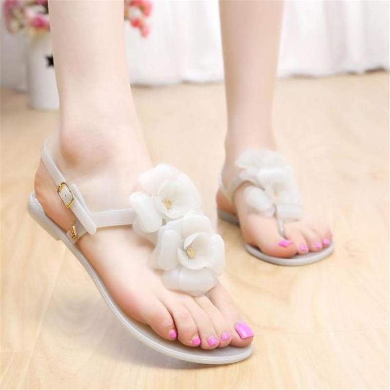 b335f7cdfec294 Detail Feedback Questions about Camellia female sandals jelly shoes fashion  shoes slip resistant lambdoid female flip flop on Aliexpress.com