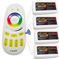 DC12V 24 V 2.4G Wi-fi Milight Levou RF Controlador + 4 pcs Remoto 4-zone RGBW RGBWW RGB RGBW Levou Controlador para RGB Tira Conduzida Luz