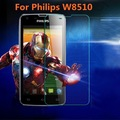For Philips Xenium W8510 Tempered Glass Original Protective Case Film Explosion-proof Screen Protector for Philips W8510