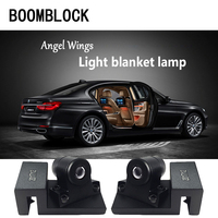 LED Ghost Shadow Laser Projector Turning Warming Lamp For Skoda Octavia A5 A7 2 Rapid Fabia Yeti Superb Mini Cooper Accessories