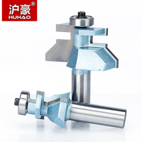 HUHAO 1 set 1/2 Shank Router Bits For Wood Woodworking Tool Floor Mortise Stitching Cutter CNC Cutter Joint Knife for Wood