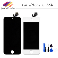 Hot Truth 1 PCS Grade AAA For IPhone 5 5G LCD Display Touch Screen Digitizer No