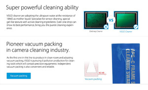 Image 5 - Professionelle VSGO APS C Rahmen Sensor Reinigung Tupfer Kit 10 stücke Pack Für DSLR Kamera Sensor Objektiv Telefon Bildschirm Tastatur und gläser.