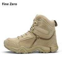 Sapatos Masculino Winter Military Men Boots 2018 Fashion Army Boots Men' s Desert Combat High Top Ankle Outdoor Shoes Men