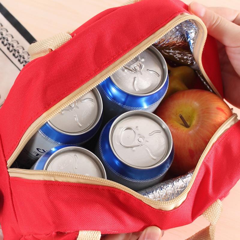 bento almoço bolsa sacolas de The Material : Canvas