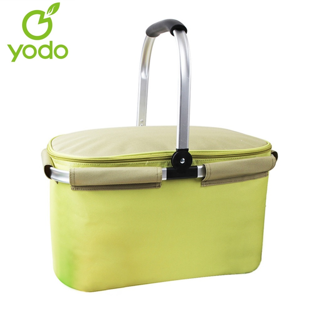 yodo 22l large capacity insulated thermal cooler bag stylish collapsible insulated cooler bag for pretty bolsa termica