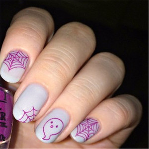 Image 3 - BORN PRETTY Halloween Rectangle Stamp Plates 12*6cm Nail Art Image Stamping Template Celebration BPX L007