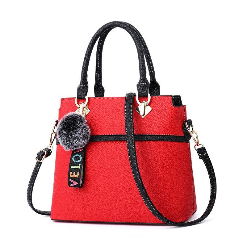 9e38b8dac3 Legújabb divat női táskák magas minőségű pu bőr nagy táska táska ...