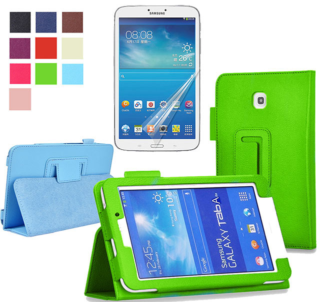 Leather Case For Samsung Galaxy Tab 4 7 0 7 Inch Tablet Sm T230 T231 230 New Fashion Stand Case Shockproof Screen Protector For Samsung Galaxy Tab Case For Samsung Tab7 Inch Aliexpress
