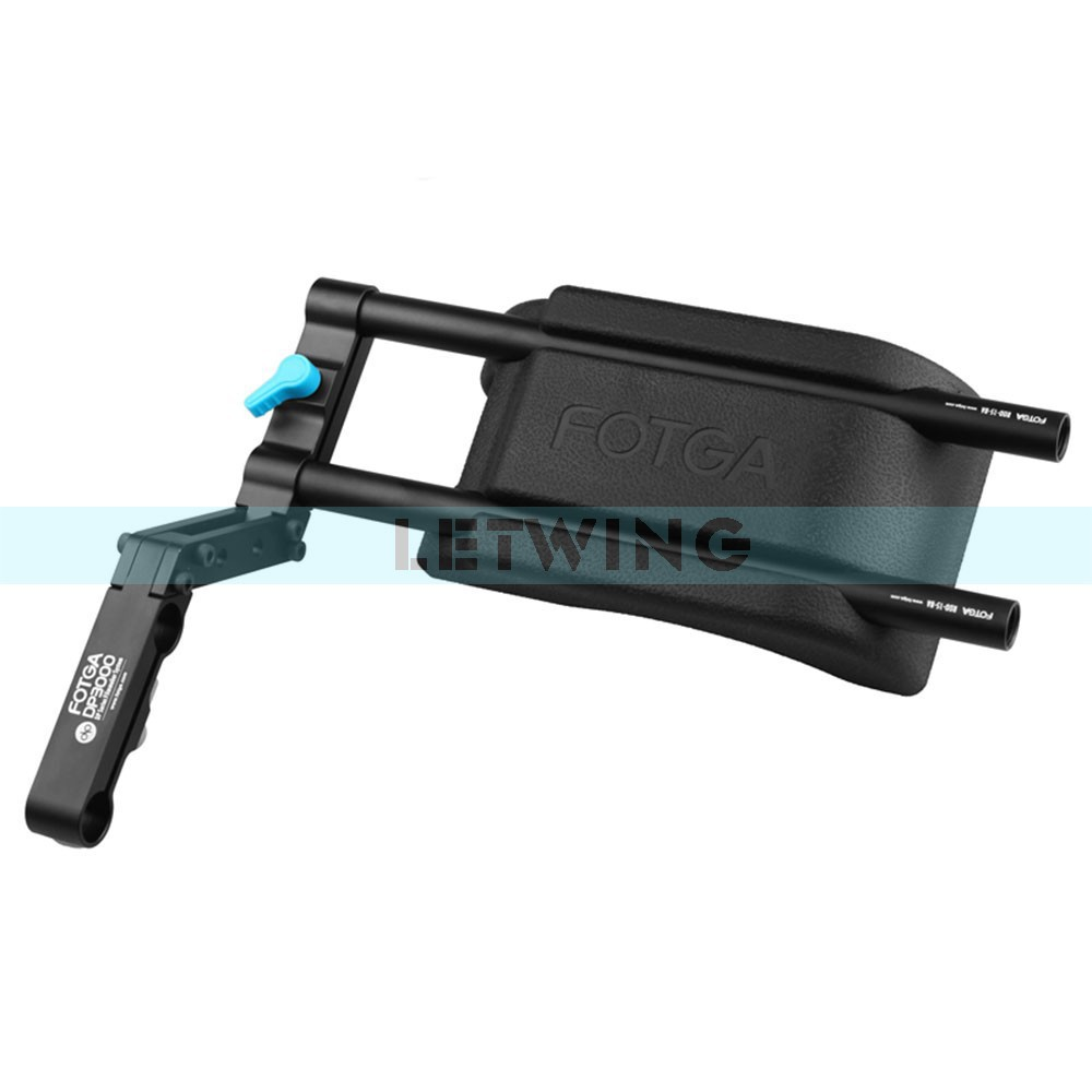 Здесь продается  Fotga DP3000 M2 15mm Rods Z-offset Bracket Shoulder Support Stabilizer with Shoulder Pad  Бытовая электроника
