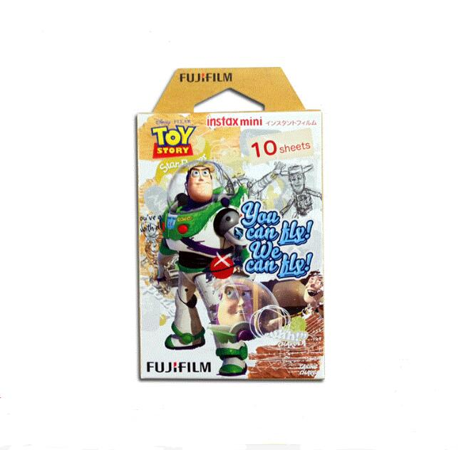 Genuine Fujifilm Toy story Instax Mini 8 mini 9 film (10 sheets) for Camera Instant mini 7s 9 25 50s 90 Photo Paper Instax Mini freeshipping 500 pcs fujifilm instax mini 8 film 20x25 sheets for camera instant mini 7s 25 50s 90 photo paper with retail box