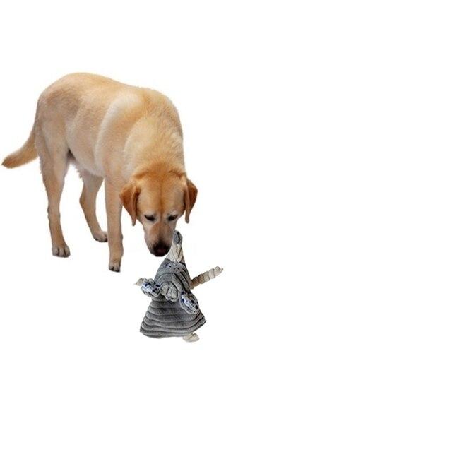 Pet Cucciolo di Cane Giocattoli di Peluche Coniglio Carino Elefante Farcito Cane Cigolio Suono Squeaker Masticare Giocattoli Cani Denti Pulito Ed Esercizio Fisico.