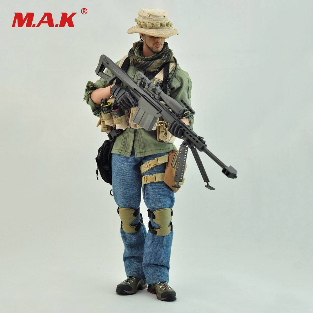 1/6 Scale PMC SNIPER Soldier Clothes Set Military Sharpshooter Suits For 12 Male Action Figure Body Collections Dolls 1 6 scale full set male action figure kmf037 john wick retired killer keanu reeves figure model toys for gift collections