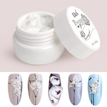 EA 24 Warna Pemodelan Gel Cat Kuku Desain 3D UV Gelpolish Profesional Lukisan Patung Gel Varnish(China)