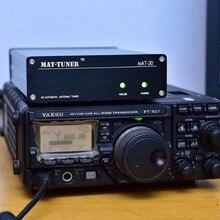 Новая версия мат-30 120 Вт ВЧ автоматический тюнер Автомобильный тюнер автоматический антенный тюнер для Yeasu Ham радио