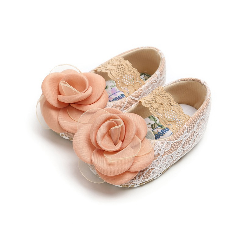 Baby Girls Shoes Non-Slip Newborn Infant Cute Lace First Walkers  Girls Toddler Casual Soft Sole Shoes 2019