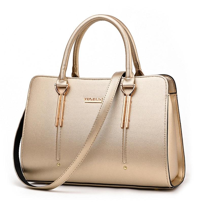 Fashion Casual And Business Casual Ladies Elegant font b Handbag b font Luxury Designer Hand Bag