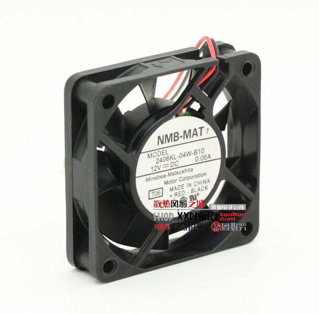2406KL-04W-B10 originais 6015 12 V 0.06A 6 CM bola ventilador de refrigeração