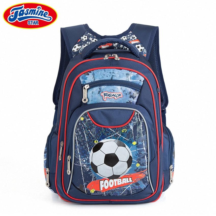 JASMINESTAR Children School Bags For Teenagers Boy Large Capacity Orthopedic font b Kids b font Cartoon