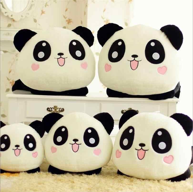 1 pcs 55 CM Tamanho Grande Panda De Pelúcia Brinquedos Infantis Brinquedos Do Bebê enorme Bicho de pelúcia Panda Bonecas Travesseiros Macios de Boa Qualidade Livre grátis