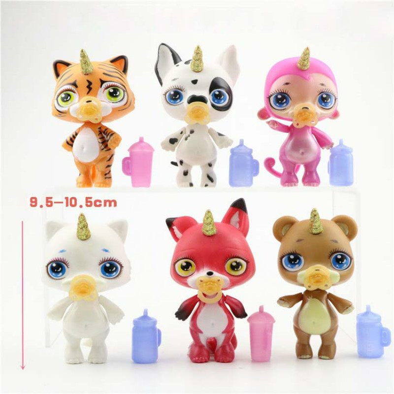 6 Styles Poopsie Slime Unicorn Spit Mucus Doll Toys Hobbies Stress Relief Toy Squeeze For Children Squishy