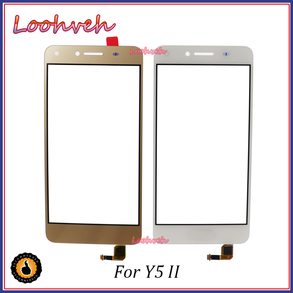 """Expressive High Quality 5.0"""" For Huawei Honor 5a Y5 Ii 2 Y5ii Cun-l01 Lyo-l21 Touch Screen Digitizer Sensor Outer Glass Lens Panel"""
