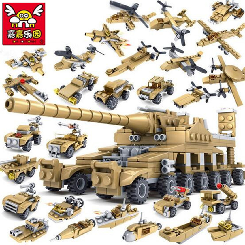 544pcs Brand Compatible Army Series 16 in 1 Super Fire Tank Assembly Transformation Toy Small Particles Building Blocks for Kids544pcs Brand Compatible Army Series 16 in 1 Super Fire Tank Assembly Transformation Toy Small Particles Building Blocks for Kids