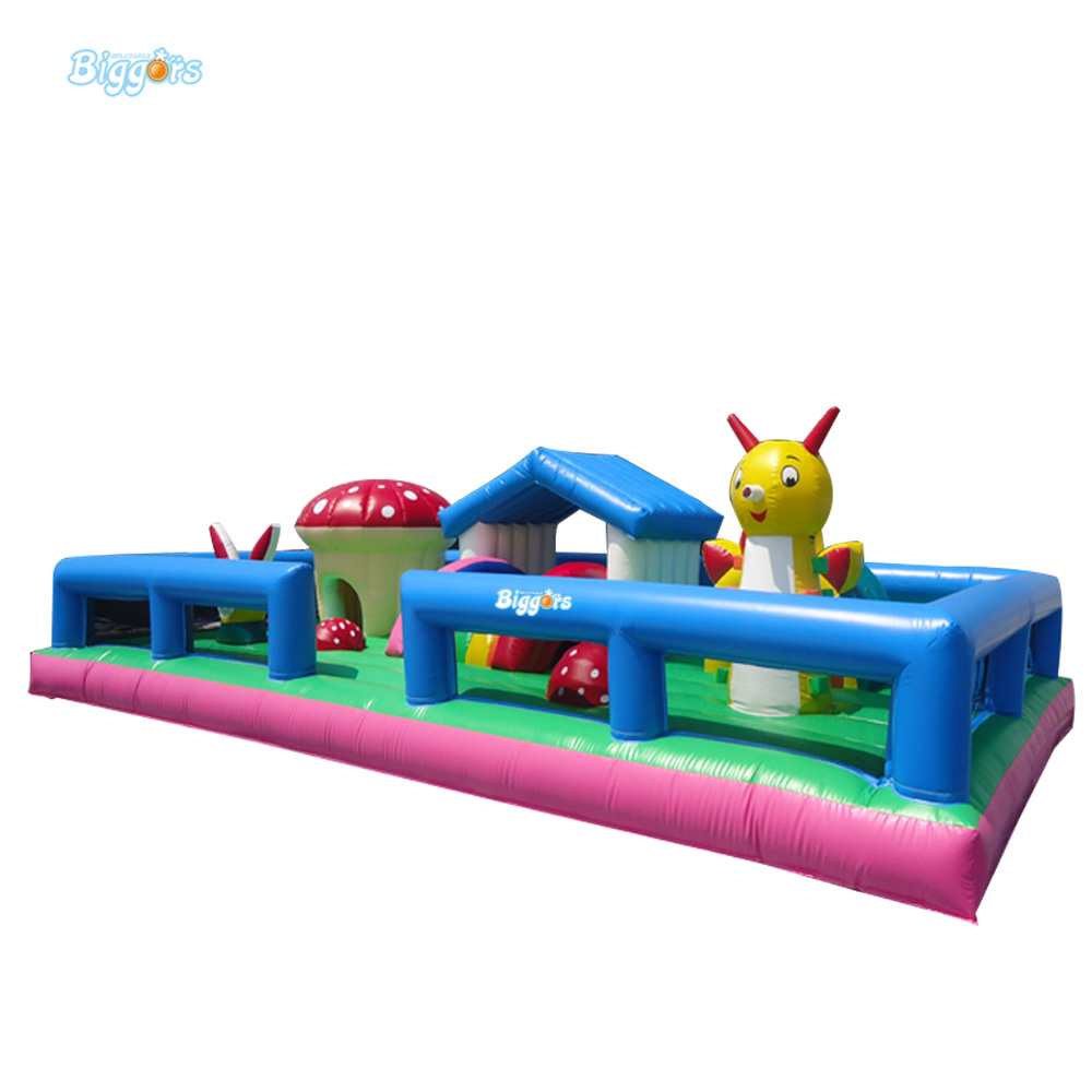 Free Sea Shipping Kids Inflatable Bounce House Bouncer Jumping Castle Playground 2015 blue yellow inflatable jumping house free shipping