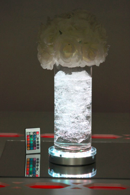 Hot Sale 6 Quot Remote Control Centerpieces Led Vase Lights