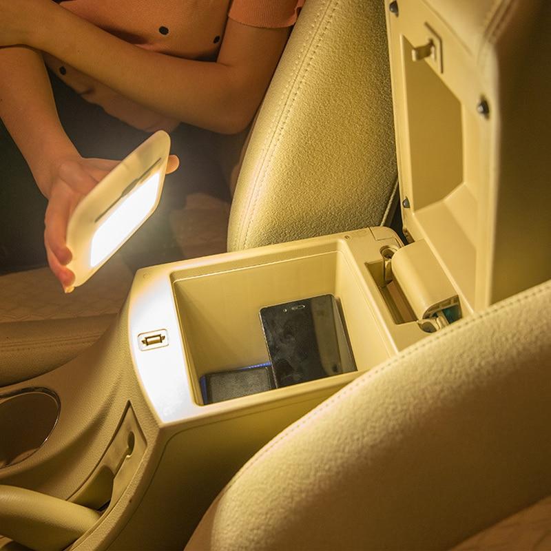 Akumulator Czujnik dotykowy Czujnik Światło nocne Lampka USB Moc - Lampki nocne - Zdjęcie 5